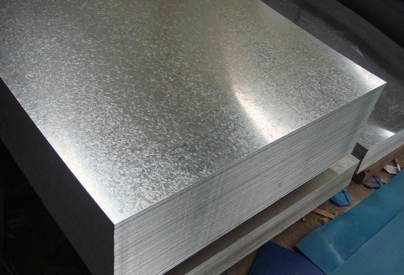 Chapa de aço galvanizada