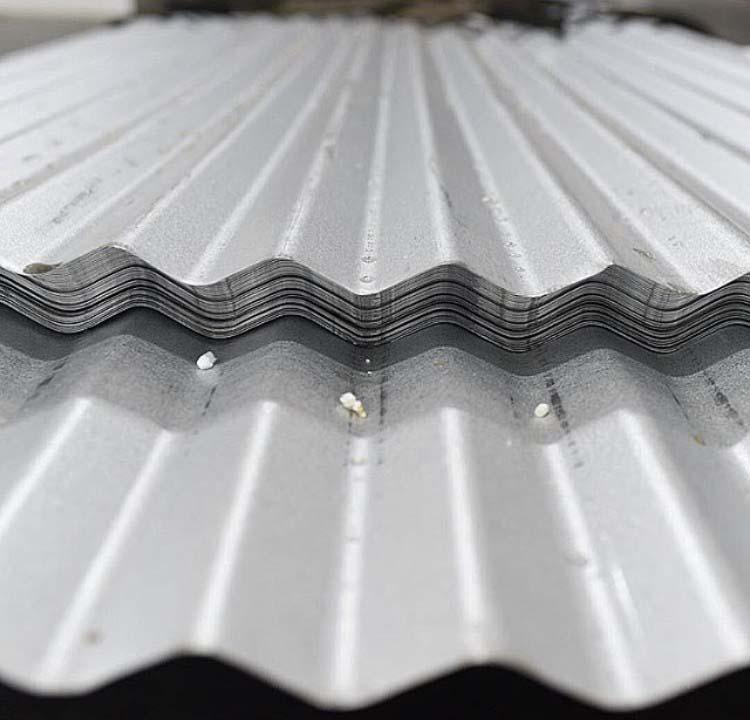 Distribuidor de telhas onduladas