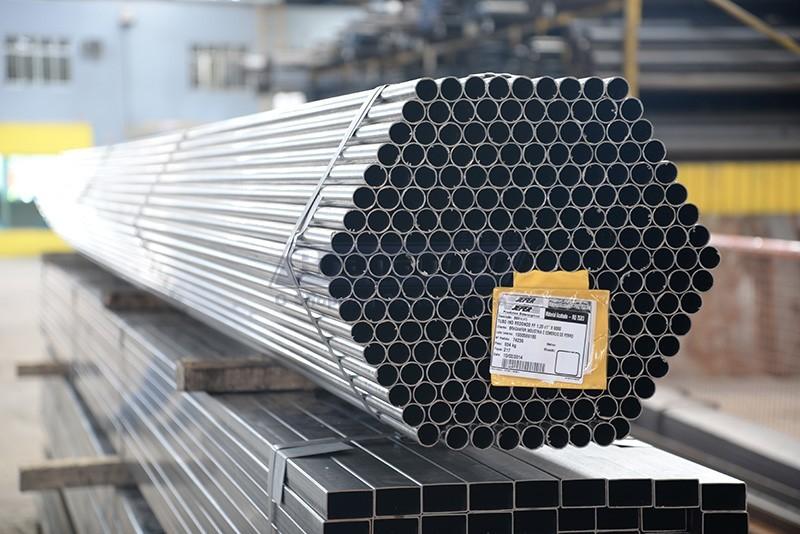 Tubo de aço carbono zincado