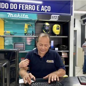 Loja de máquina de solda
